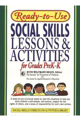 Ready-To-Use Social Skills Lessons Grades PreK-K