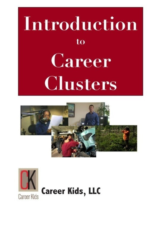 Introduction To Career Clusters Dvd Middle High School Boulden