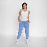 BUTTER FLEECE JOGGER PERIWINKLE