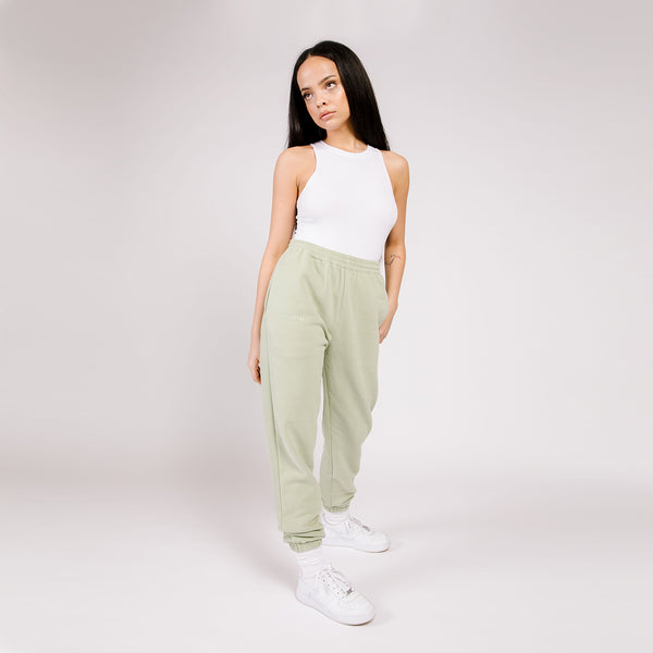 BUTTER FLEECE JOGGER PISTACHIO