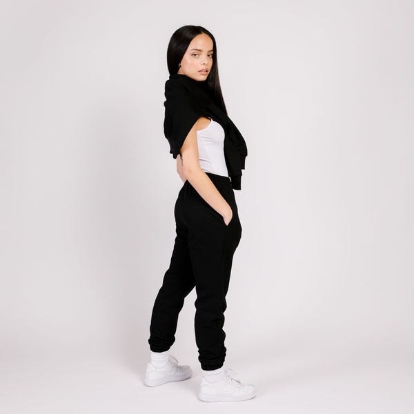 BUTTER FLEECE JOGGER BLACK