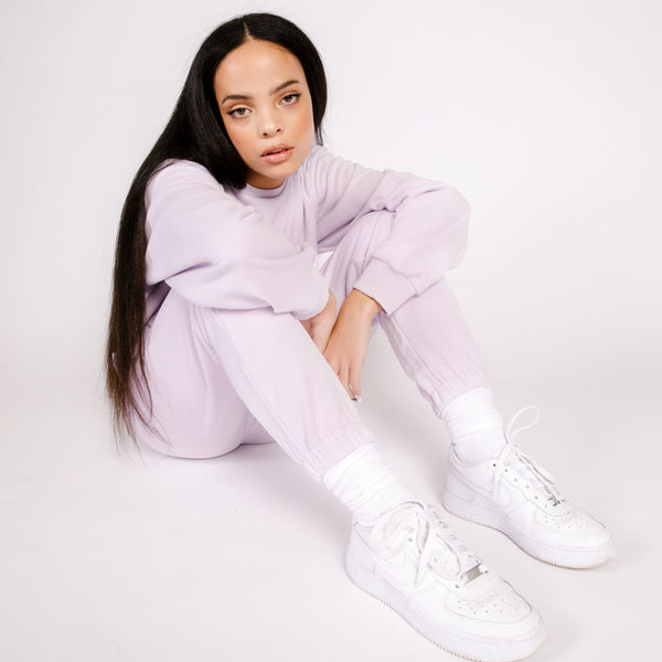 BUTTER FLEECE JOGGER LILAC