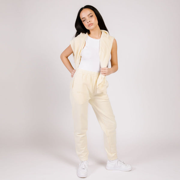 BUTTER FLEECE JOGGER BANANA