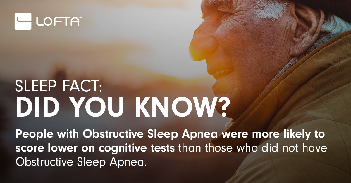 Severity of Sleep Apnea Linked to Degree of Cognitive Impairment in Seniors