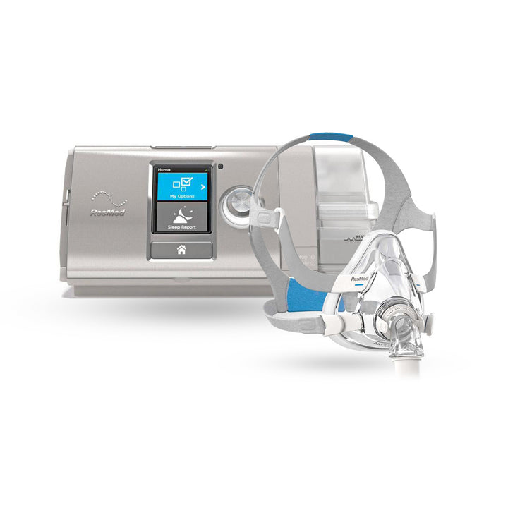 ResMed AirCurve™ 10 VAuto BiLevel CPAP Package with AirFit™ F20 Full Mask