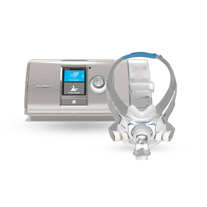 ResMed AirCurve™ 10 VAuto BiLevel CPAP Package with AirFit™ F30 Full Hybrid Mask