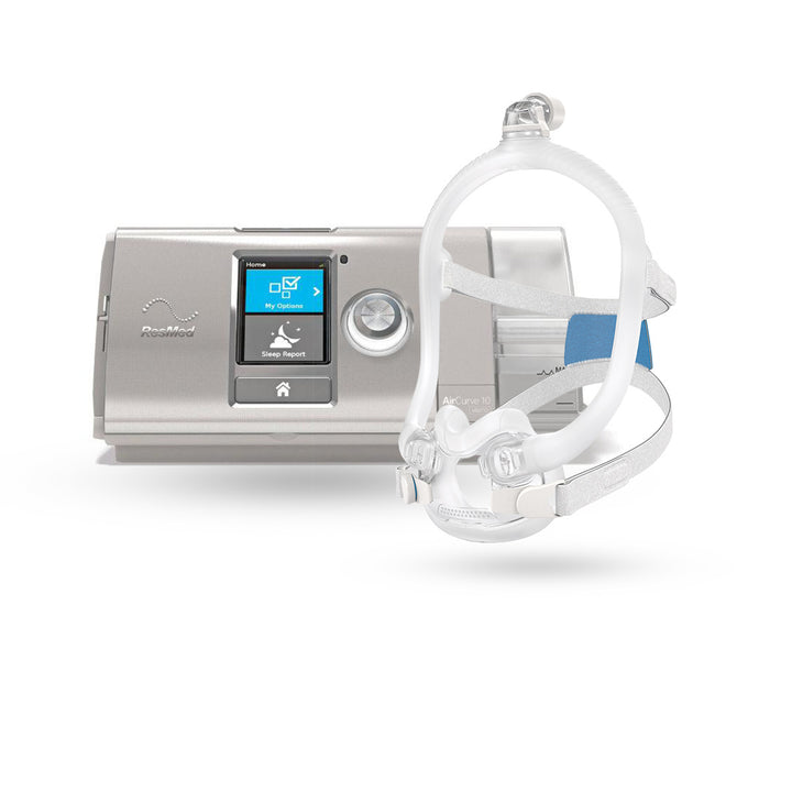 ResMed AirCurve™ 10 VAuto BiLevel CPAP Package with AirFit™ F30i Full Hybrid Mask