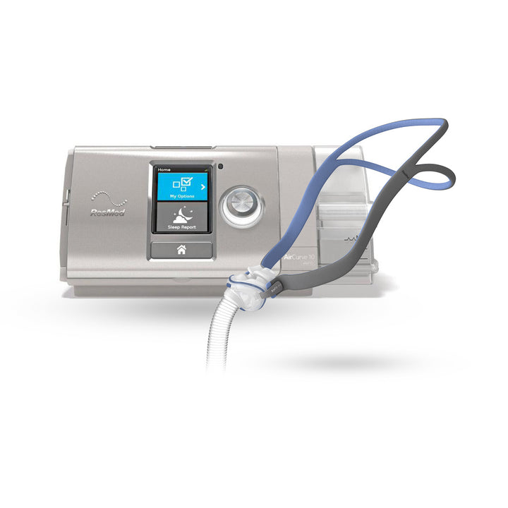 ResMed AirCurve™ 10 VAuto BiLevel CPAP Package with AirFit™ P10 Nasal Pillow Mask
