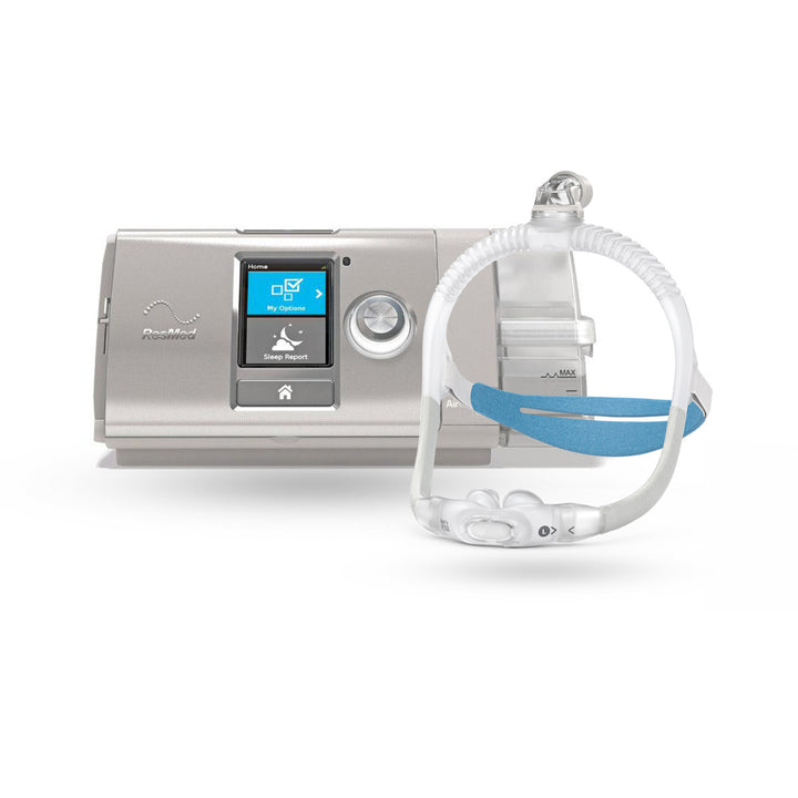ResMed AirCurve™ 10 VAuto BiLevel CPAP Package with AirFit™ P30i Nasal Pillow Mask