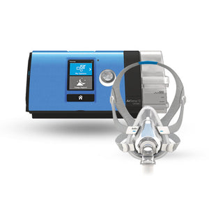 ResMed AirSense™ 10 EasyPay Ultimate CPAP Package with AirTouch™ Memory Foam F20 Full Mask