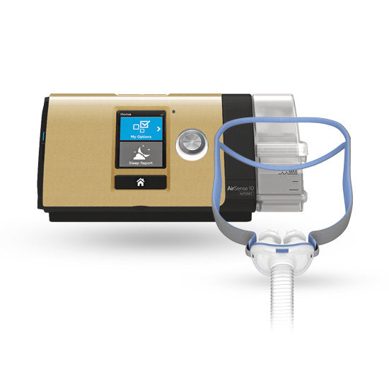 ResMed CPAP AirSense 10 P10 Ultimate Package Gold