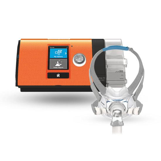 ResMed AirSense™ 10 EasyPay Ultimate CPAP Package with AirFit™ F30 Hybrid Full Mask