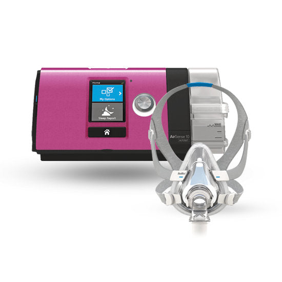 AirSense 10 AirTouch F20 Ultimate Package Pink