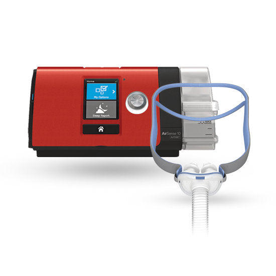 ResMed CPAP AirSense 10 P10 Ultimate Package Red