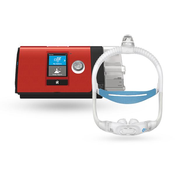 ResMed AirSense™ 10 EasyPay Ultimate CPAP Package with AirFit™ P30i Nasal Pillow Mask