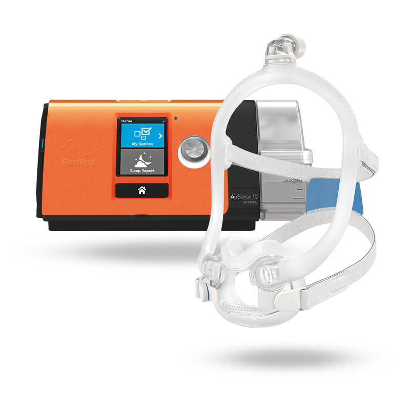 ResMed AirSense™ 10 Ultimate CPAP Package with AirFit™ F30i Full Hybrid Mask