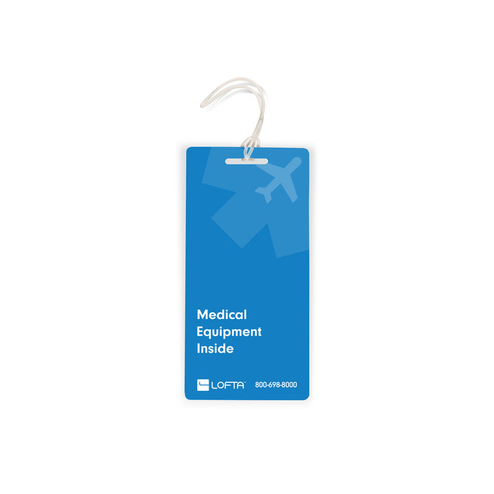 Lofta Medical Device Luggage Tag