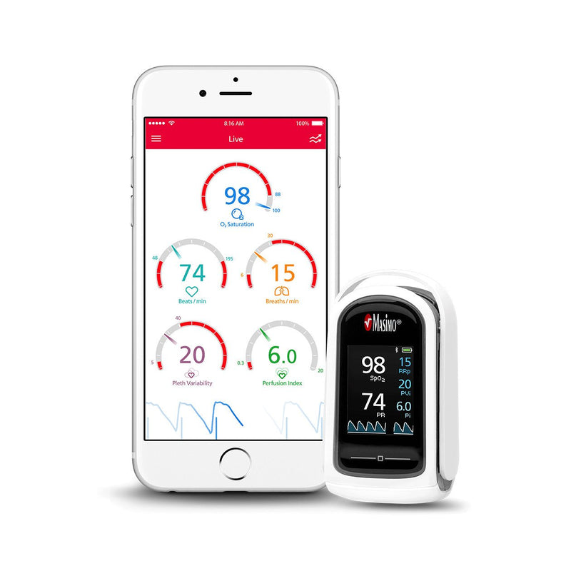 MightySat™ Fingertip Pulse Oximeter with Bluetooth