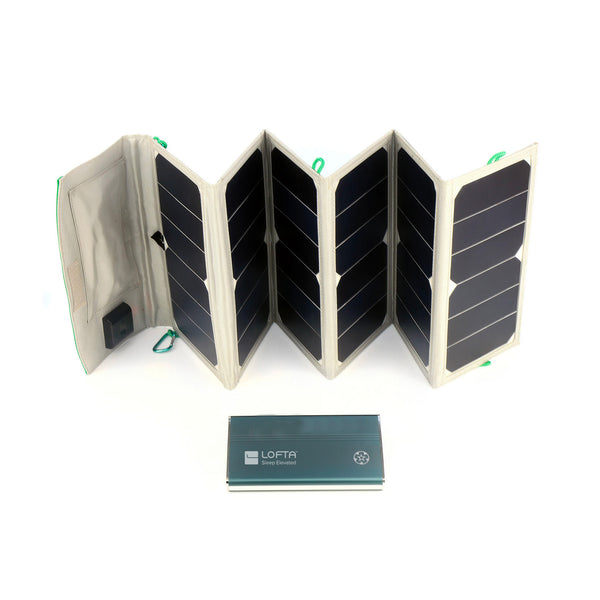 Solar Charging Panel for the Pilot-24 LITE Battery Package
