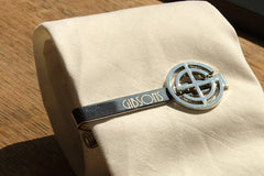 Gibsons Steakhouse Tie Bar by Stock Mfg