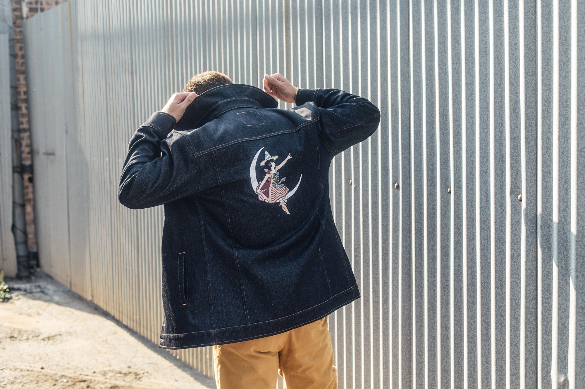 Miller High Life x Stock Mfg High Life Heritage Collection - Long Haul Jacket Custom Embroidery