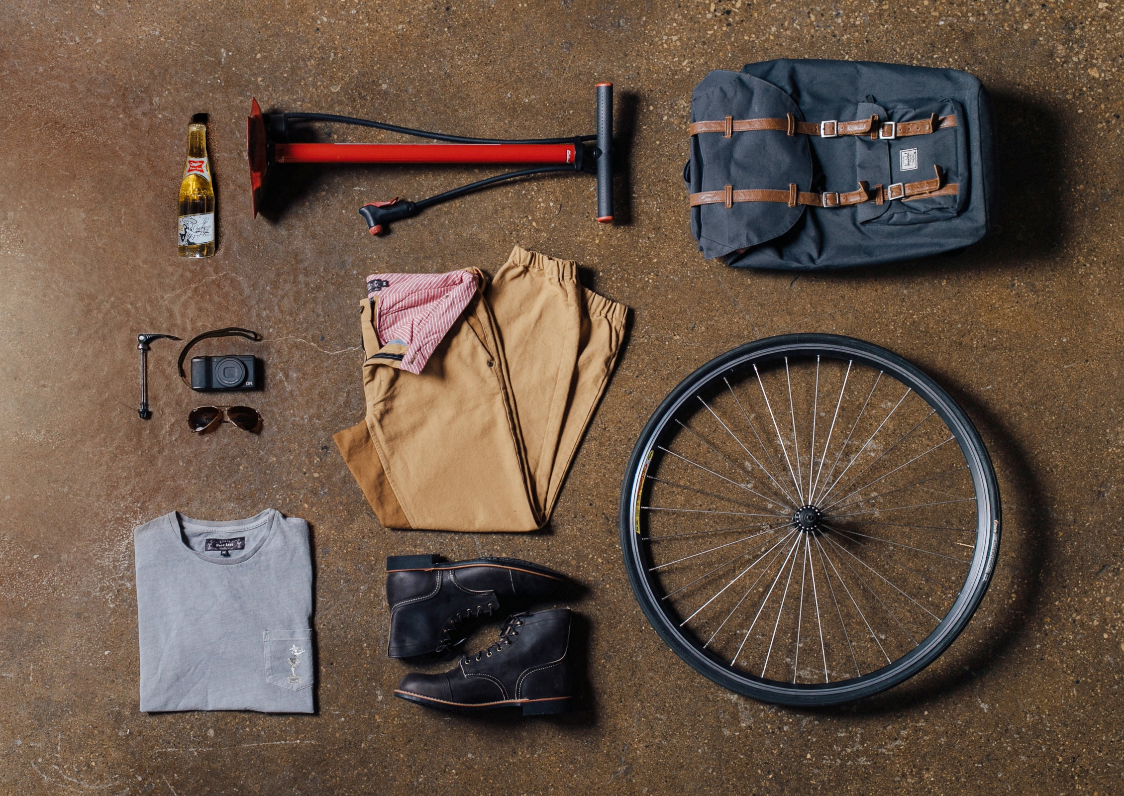 Miller High Life x Stock Mfg Heritage Collection - Riding Pants