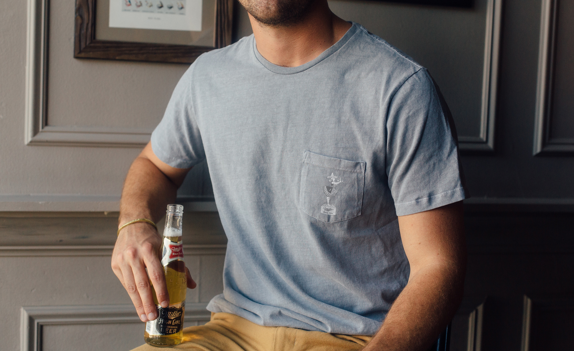Miller High Life x Stock High Life Heritage Collection - Heritage Tee