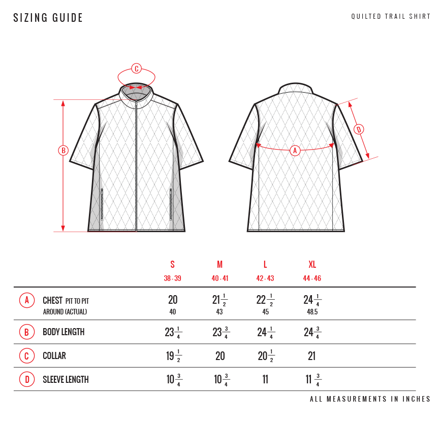 Stock Trail Shirt