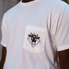 White Stock Graphic Tee