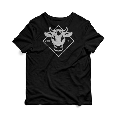 Black Stock Graphic Tee