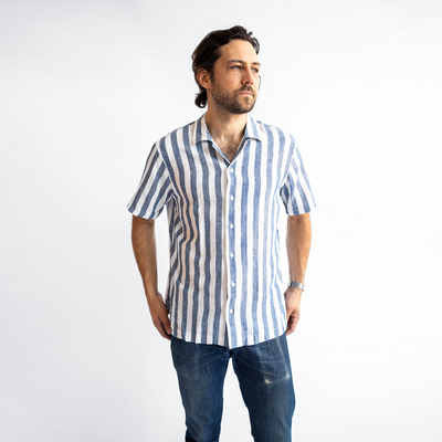 Men's Striped Cabana Shirt