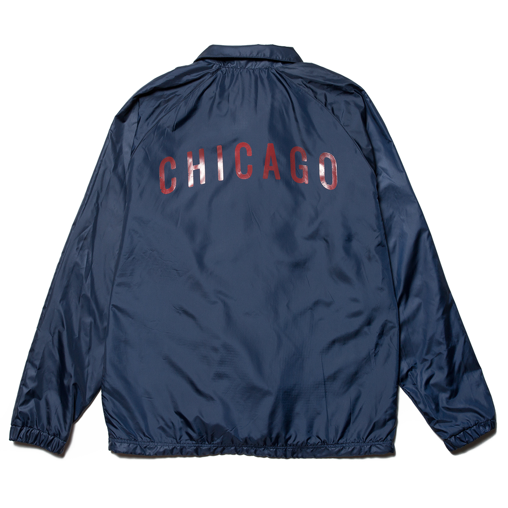 Navy Coach's Jacket
