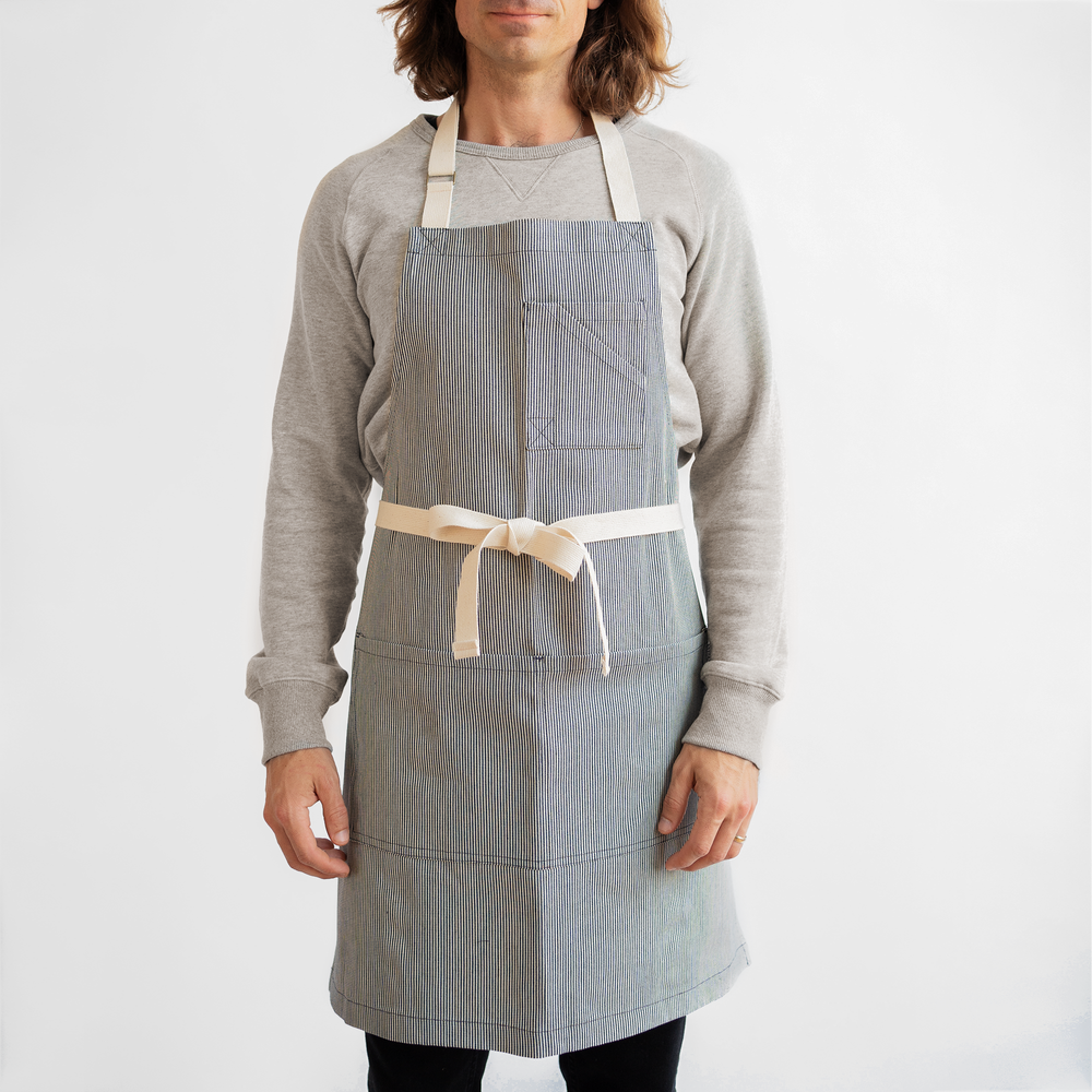 Engineer Stripe Stock Apron