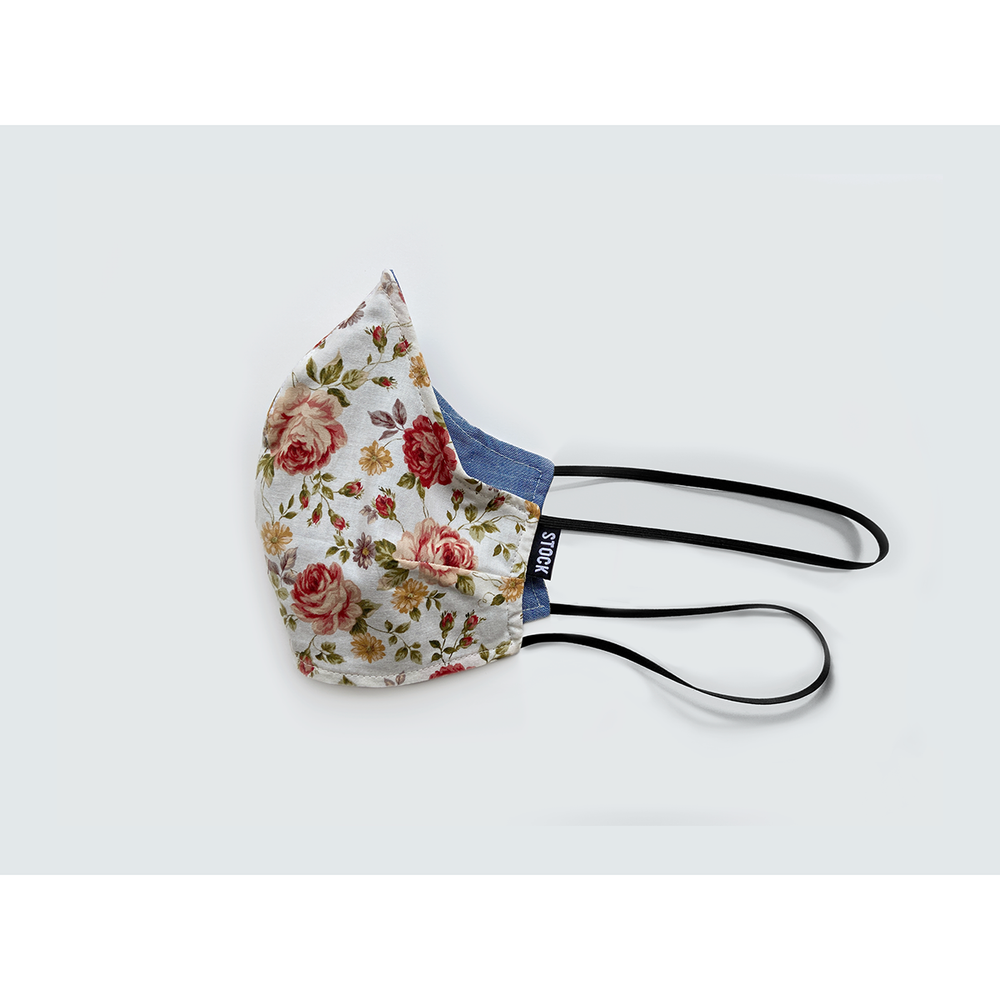 Reversible Floral Washable Face Mask