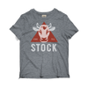 Heather Gray Stock Graphic Tee
