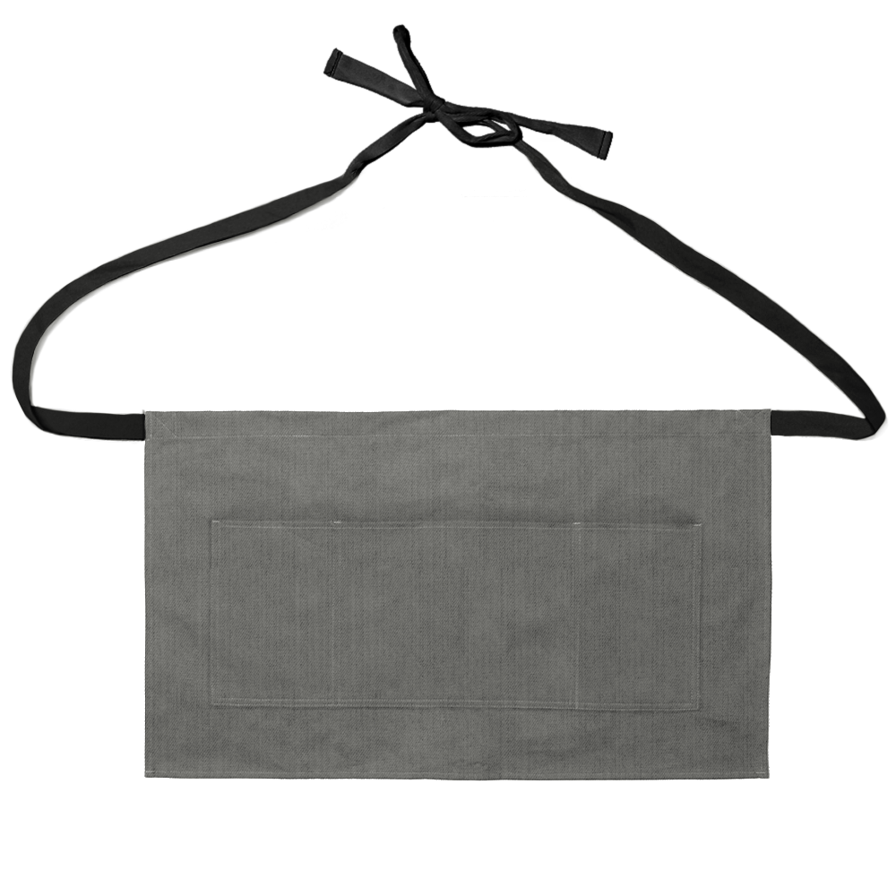 Gray Denim Waist Apron