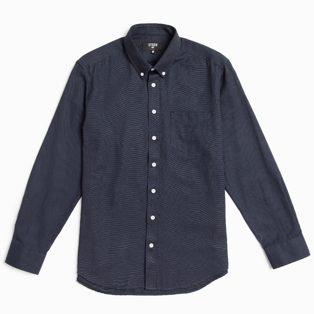 Men's Deep Indigo Service Oxford