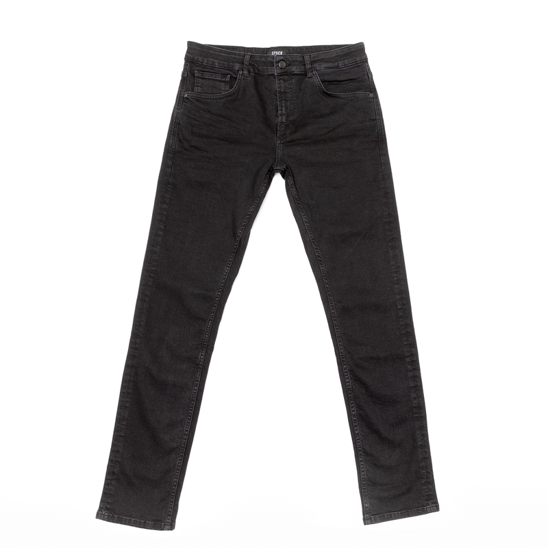 Men's Black Stretch Service Jeans