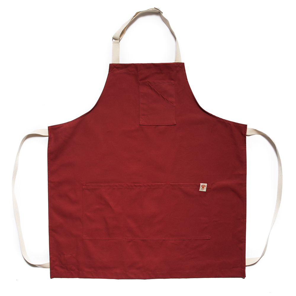 Sienna Red Stock Apron