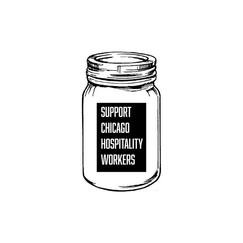 Chicago Hospitality United Tip Jar