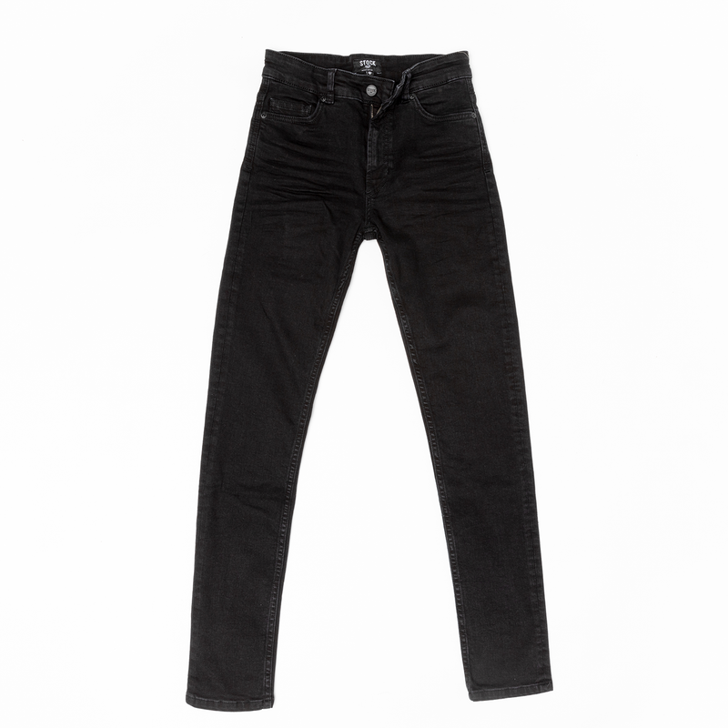 Women's Black Stretch Service Jeans