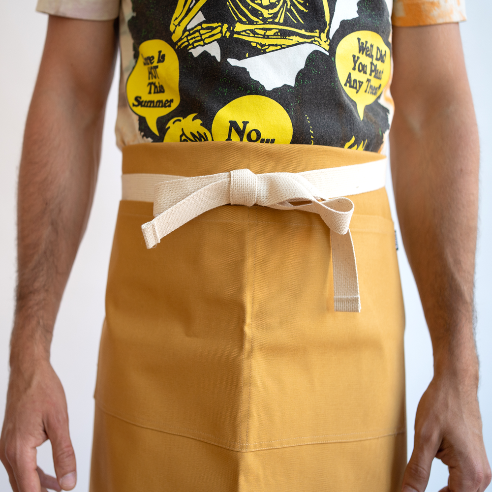 Gold Duck Waist Apron