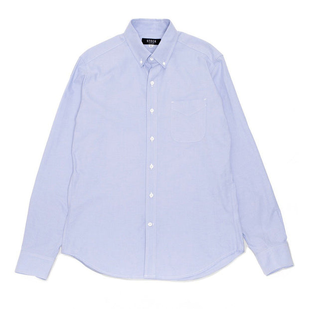 Blue Oxford Buttondown