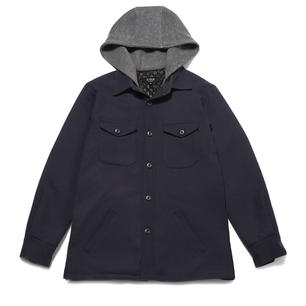 Hooded Mackinaw Jacket
