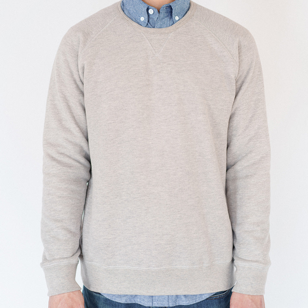 Heather Gray Service Sweatshirt