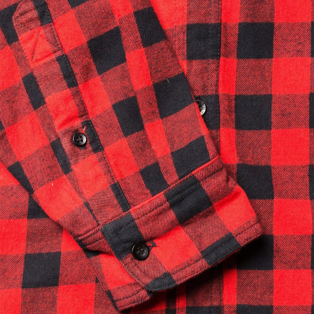 Red Buffalo Plaid Flannel