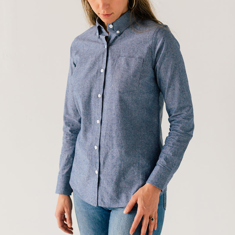 Women's Blue Service Chambray