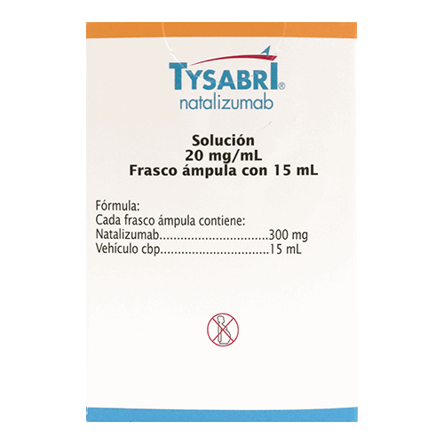 TYSABRI 300 mg. vial 15ml. amp.
