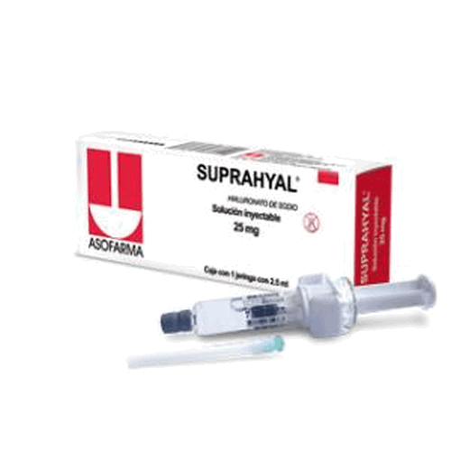SUPRAHYAL 25MG JGA PRELL 2.5ML