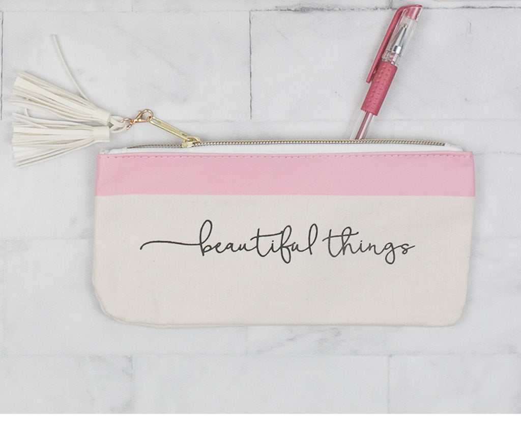 'Beautiful Things' Accessory Pouch